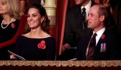 Sussexes and Cambridges reunite at Remembrance event