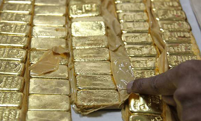 Man held with 8.20 kg gold at Chattogram airport