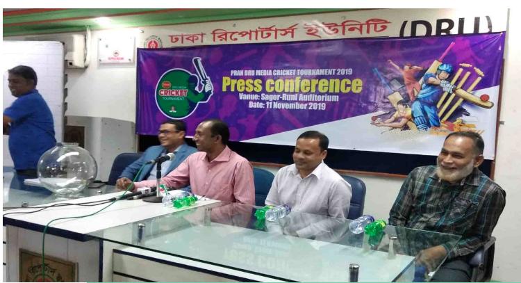 Pran-DRU Media Cricket begins on Thursday