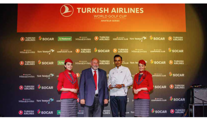 Turkish Airlines Golf: Bangladeshi golfer Faisal Khan finish runner-up