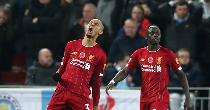 Liverpool beat Man City as Leicester, Chelsea move 2nd and 3rd
