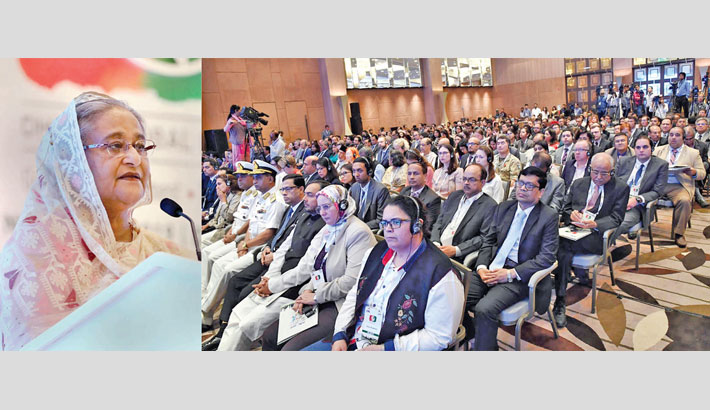 Inauguration ceremony of 'Dhaka Global Dialogue-2019'