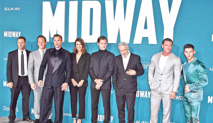 WWII film 'Midway' tops N American box office
