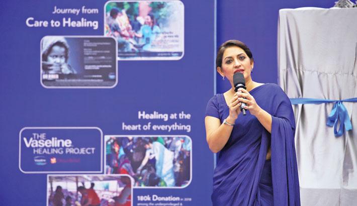 Unilever launches Vaseline Healing Project