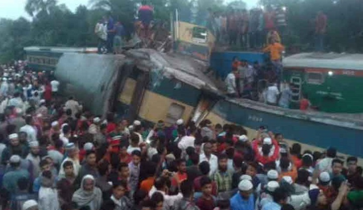 Brahmanbaria train accident: Identities of 14 deceased revealed