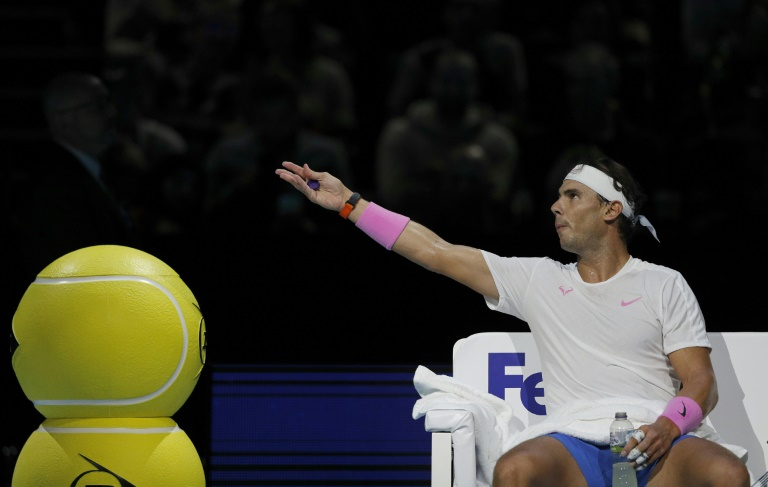 Nadal loses ATP Finals opener to Zverev as Tsitsipas triumphs