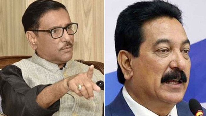 Quader asks Jatiya Party leader Ranga not to cross limit