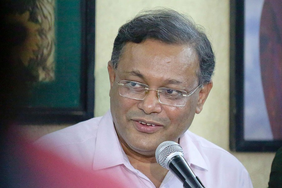 None including BNP men to be spared from anti-corruption drives: Hasan