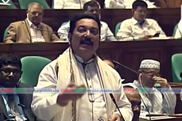Ranga begs unconditional apology in Parliament for his derogatory remark on Shaheed Noor Hossain