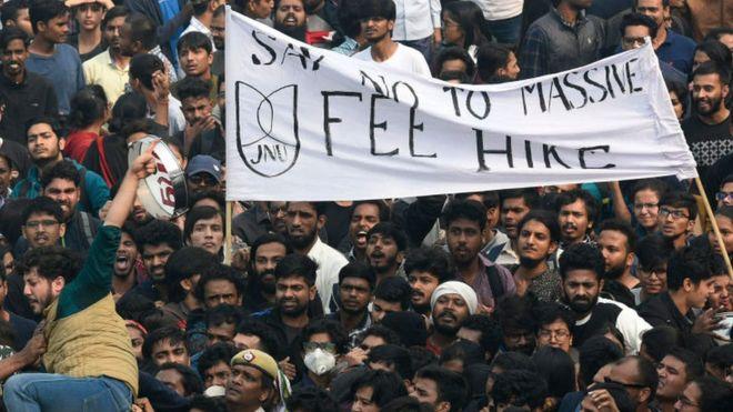Jawaharlal Nehru University rolls back hostel fee hike after protests