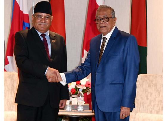 Bangladesh provides multiple entry visas for Nepalese students : President