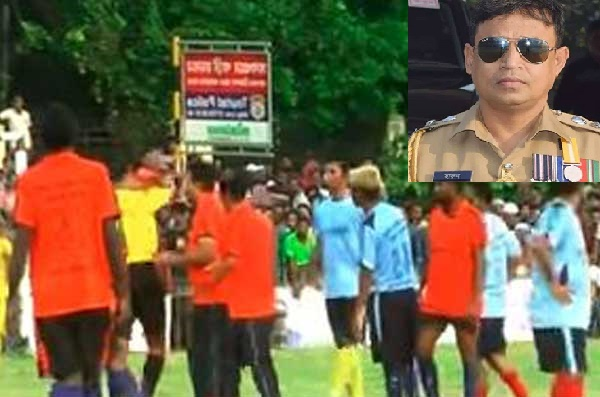 Video of SP Harun, cops beating referee goes viral