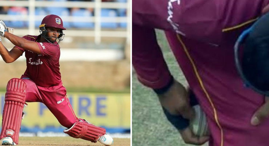Pooran banned for four T20 matches for ball tampering