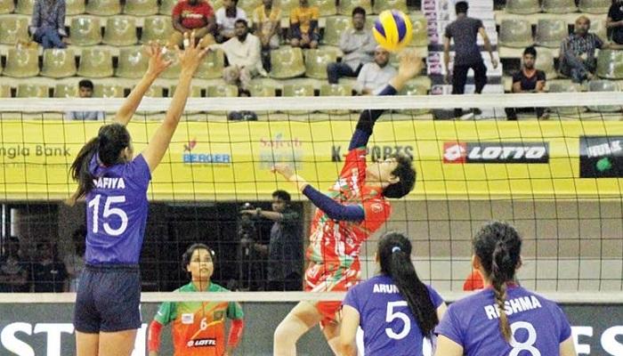 Nepal eliminate Bangladesh beating 3-0 sets