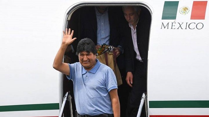 Bolivia ex-president Evo flees to Mexico