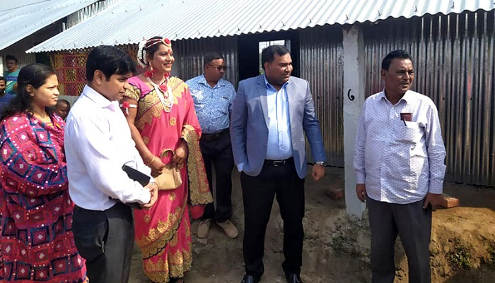 Cluster village for Hijra people opened in Thakurgaon