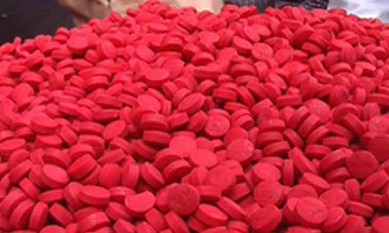 2 held with 22,000 Yaba pills in city