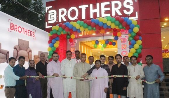 Brothers' Furniture opens new showroom in Narayanganj