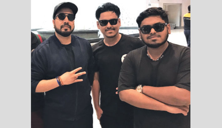 Bangladeshi Artistes Collaborate With Mika Singh