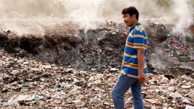 Western plastics 'poisoning Indonesian food chain'
