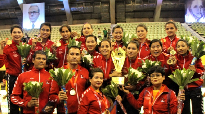 Nepal emerge champions with all-win record