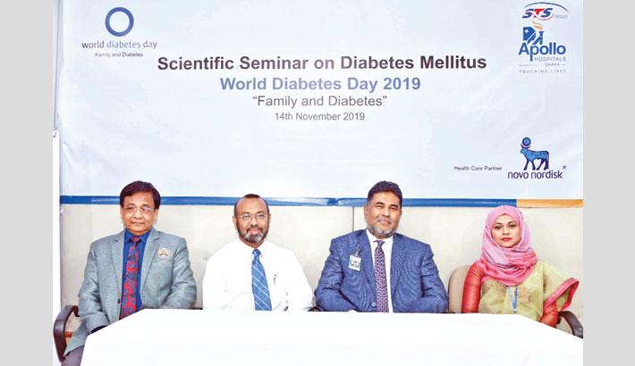 Apollo Hospitals Dhaka celebrates World Diabetes Day