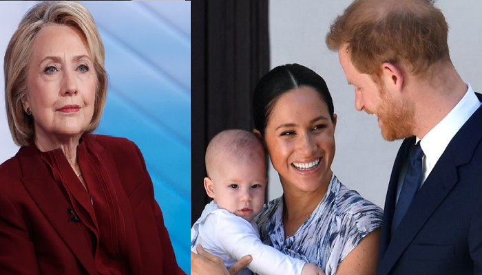 Meghan Markle invites 'fan girl' Hillary Clinton over to Frogmore Cottage for Archie cuddles