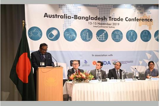 Tipu inaugurates Bangladesh-Australia trade conference in Sydney