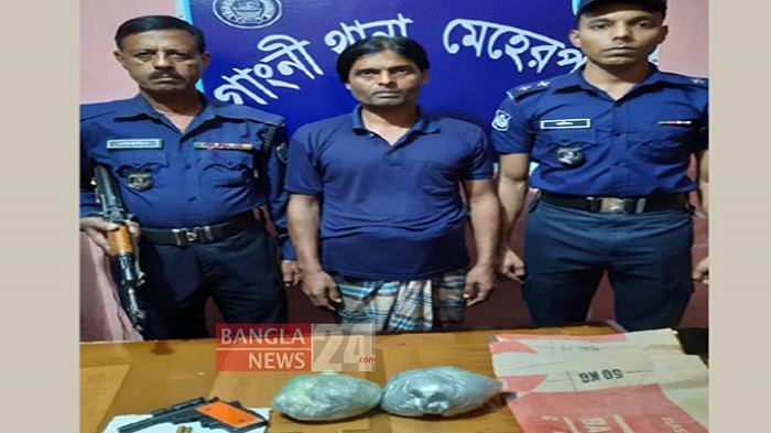 'Top terror' Raha arrested in Meherpur