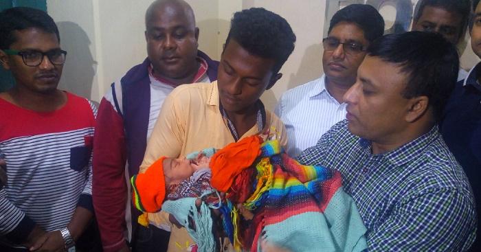 Stolen baby rescued in Bogura: One held
