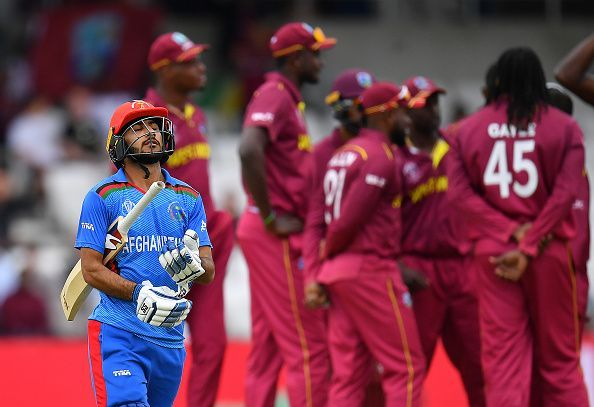 West Indies beat Afghanistan by 30 runs to end record T20I losing streak