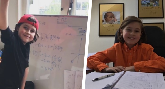 9-year-old child genius Laurent sets to become world's youngest university graduate