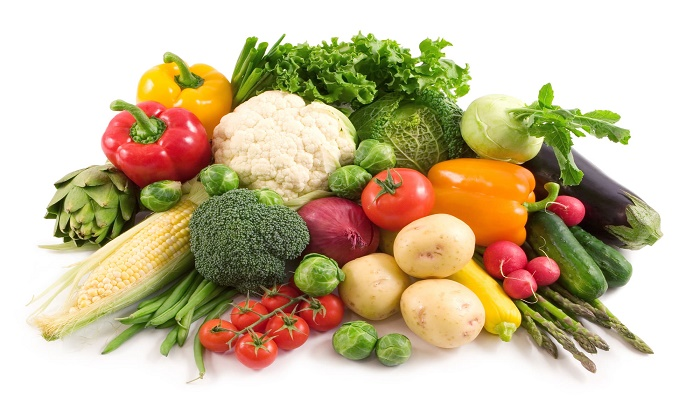 Does your diet include vegetables?