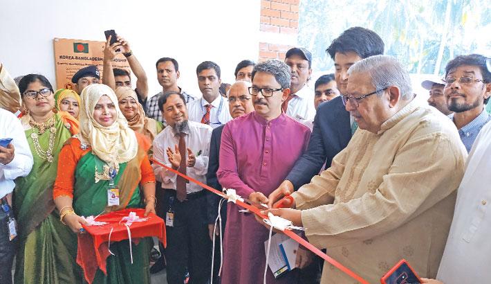 KOICA opens regional skill development centre in Rajshahi