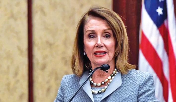 Trump sought to 'bribe' Ukraine, says Pelosi