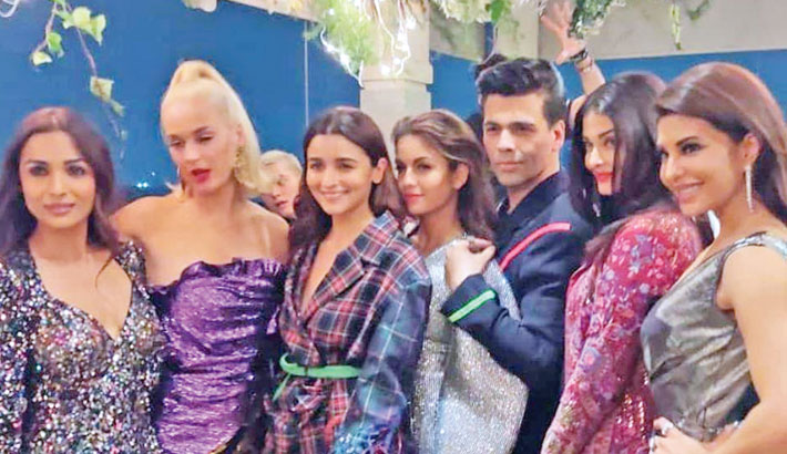 Karan Johar hosts grand party for Katy Perry