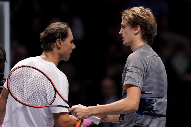 Zverev win at ATP Finals confirms Nadal exit