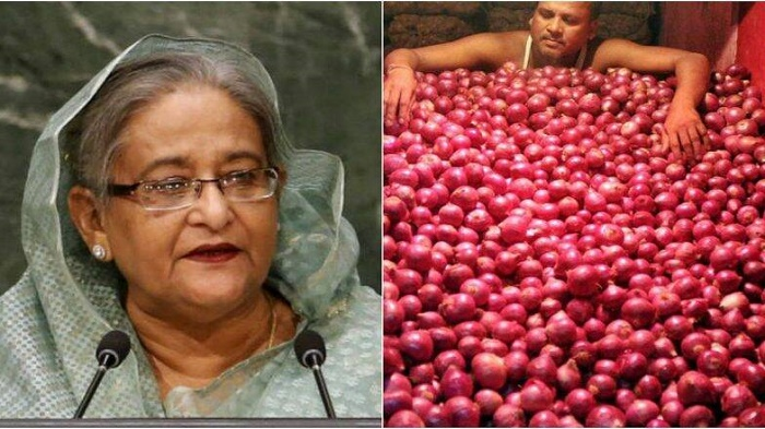 Onion price to come down within one or two days: Prime Minister