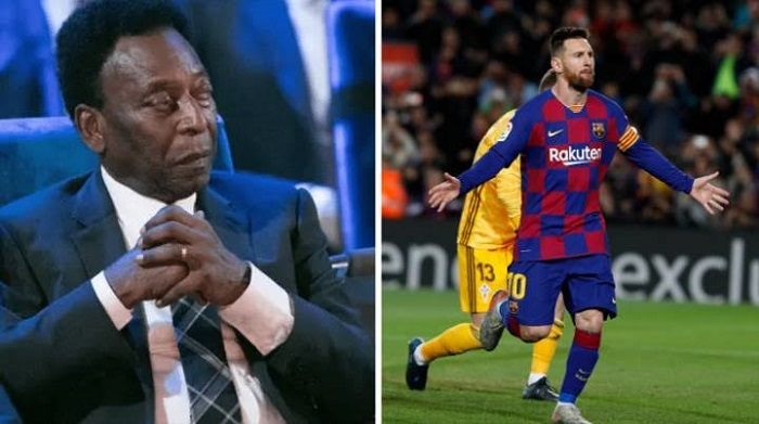 Messi world's most complete player: Pele