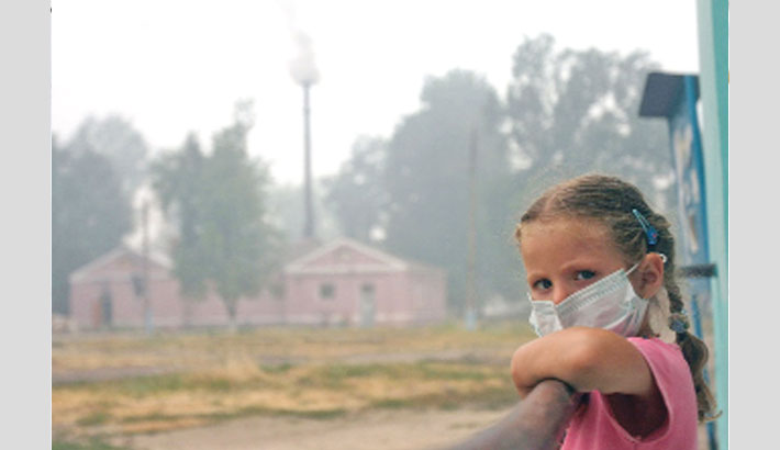 Climate change poses unprecedented health risks to children