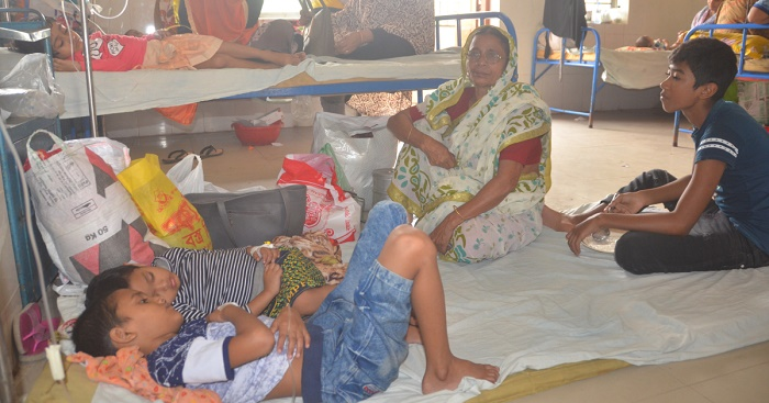 143 new dengue patients hospitalised in 24 hours