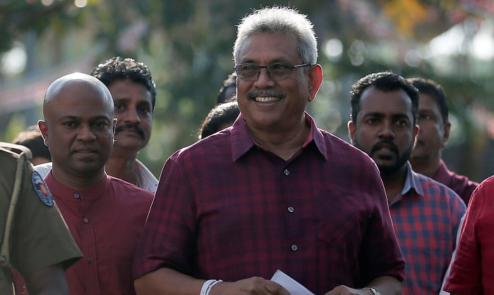 Sri Lanka presidential election: Rajapaksa victorious as opponent concedes