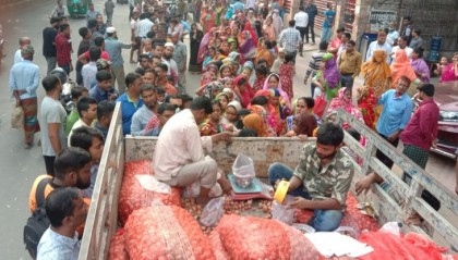 TCB starts selling Maynmar onion at Tk 45
