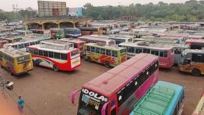 Jashore bus operators begin 'strike' demanding amendment to new law