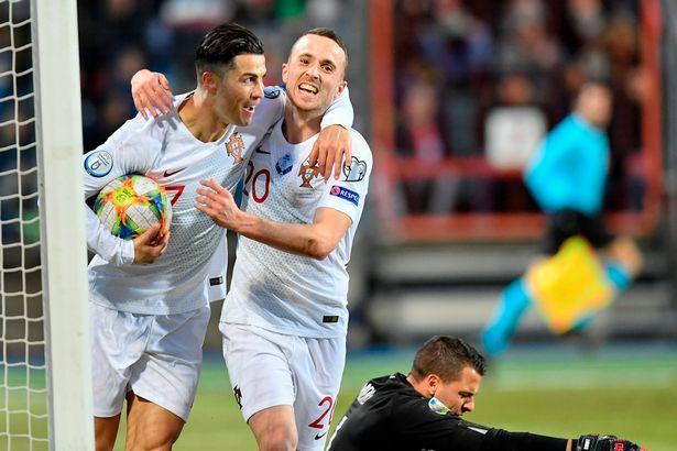 Ronaldo scores 99th Portugal goal as holders seal Euro 2020 spot