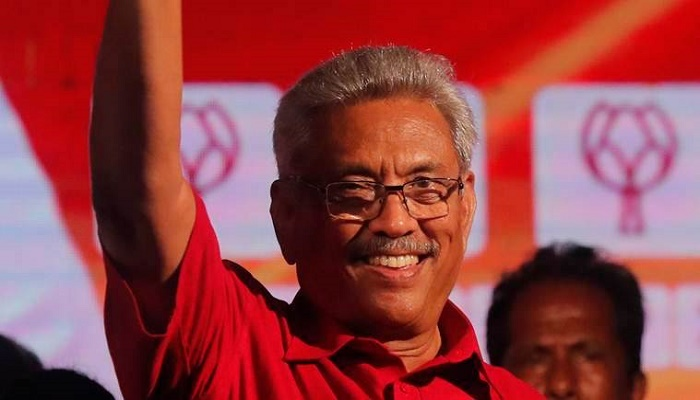 Gotabaya Rajapaksa sworn in as Sri Lankan President