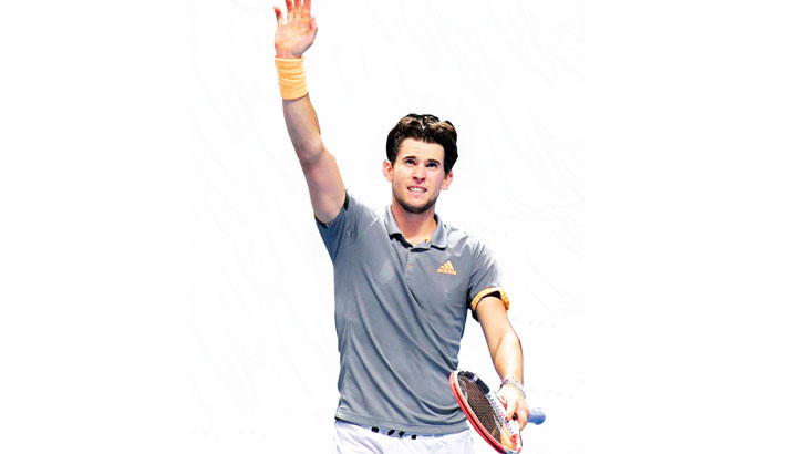 Thiem reaches London final