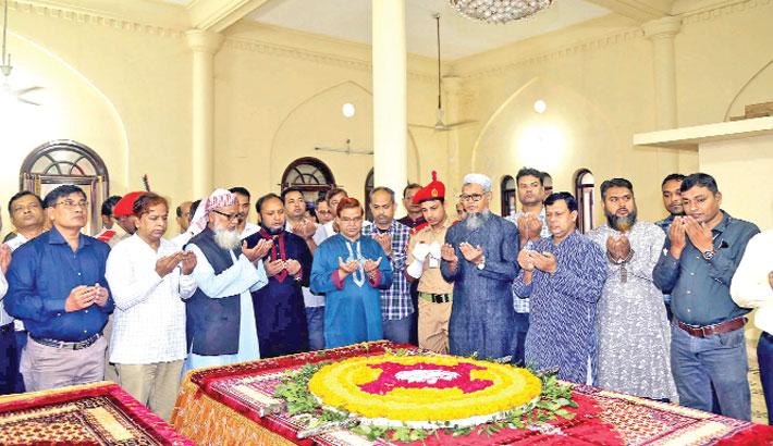 Marking Bhashani's 43rd death anniversary