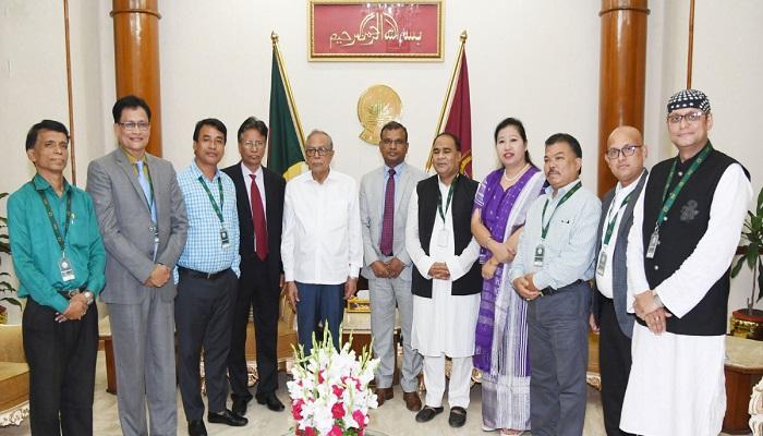 Work for strengthening communal harmony: President