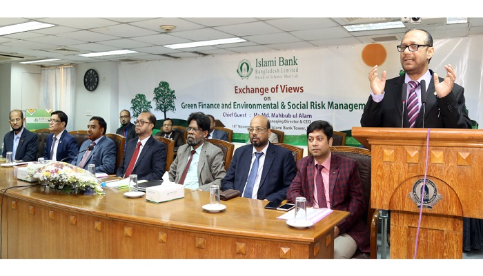 IBBL organises workshop on Green Finance